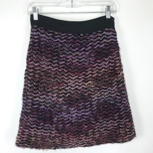 Knitted & Knotted Anthropologie Skirt #247